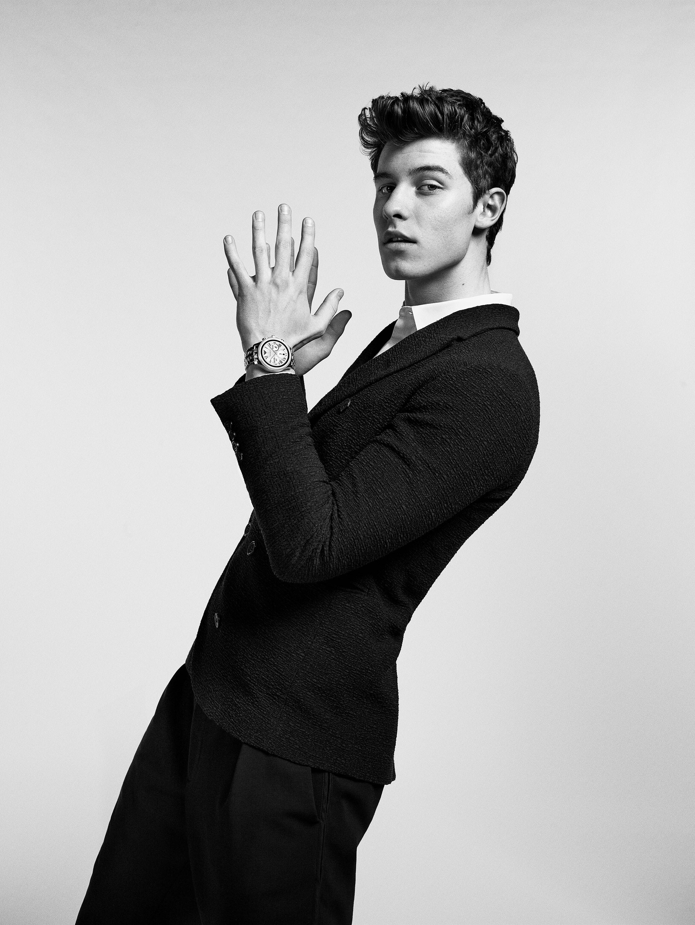 Emporio Armani Smartwatch Campaign with Shawn Mendes
