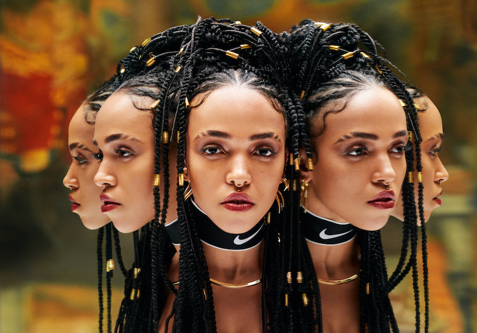 FKA twigs for Nike