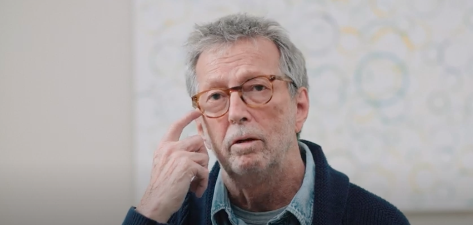 Eric Clapton Speaks At Length On COVID, The Vaccine, And More