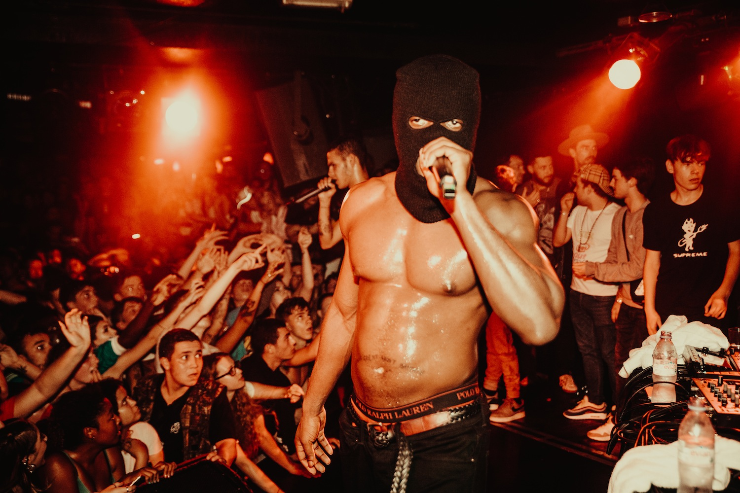 slowthai - Camden Underworld (Credit: Ben McQuaide)