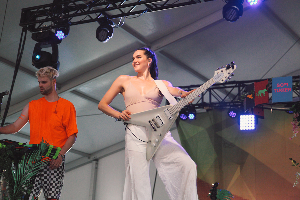 Sofi Tukker (Photo: Katherine Squier)