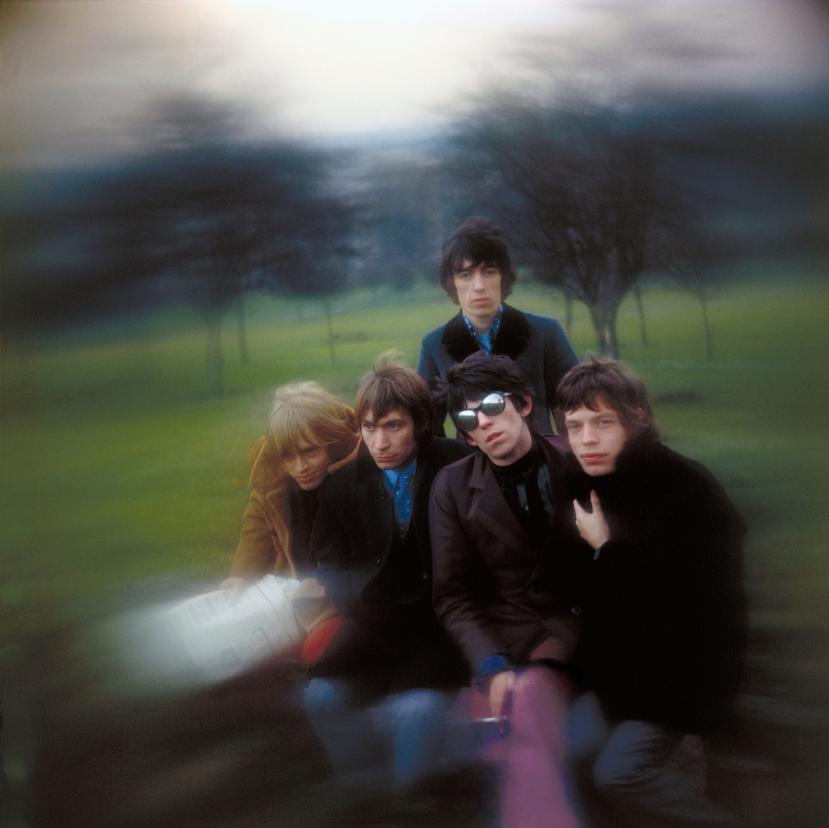 The Rolling Stones shot (Credit: Gered Mankowitz)