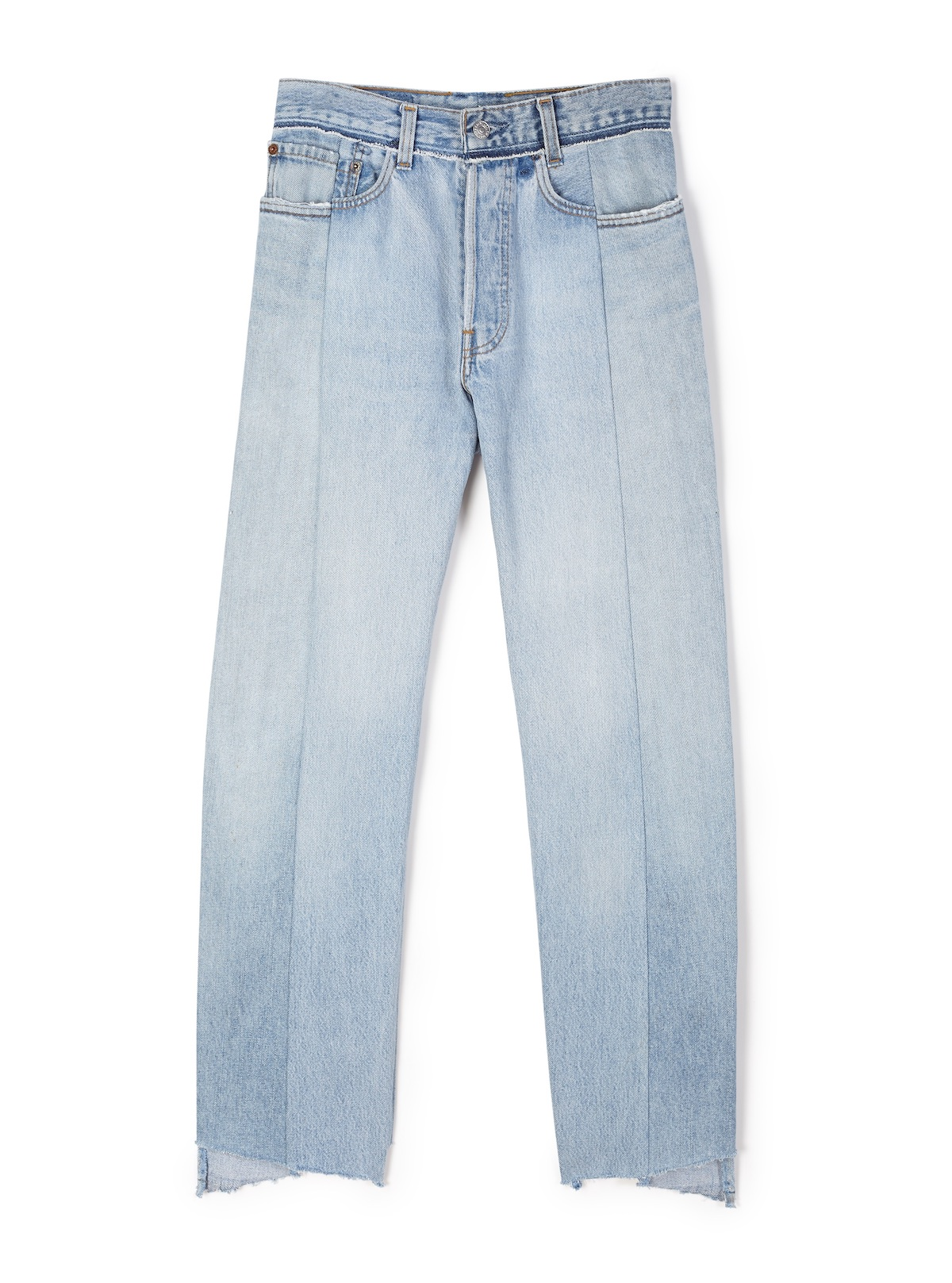 Vetements Reworked Blue Jeans