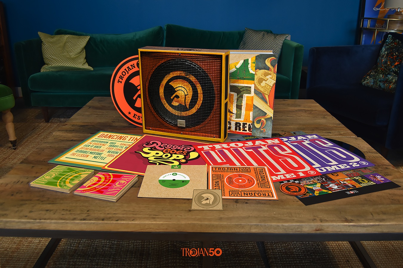 Trojan 50th anniversary box set