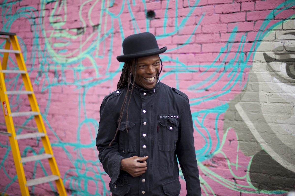 The Beat's Ranking Roger (Credit: Jim Stokes)