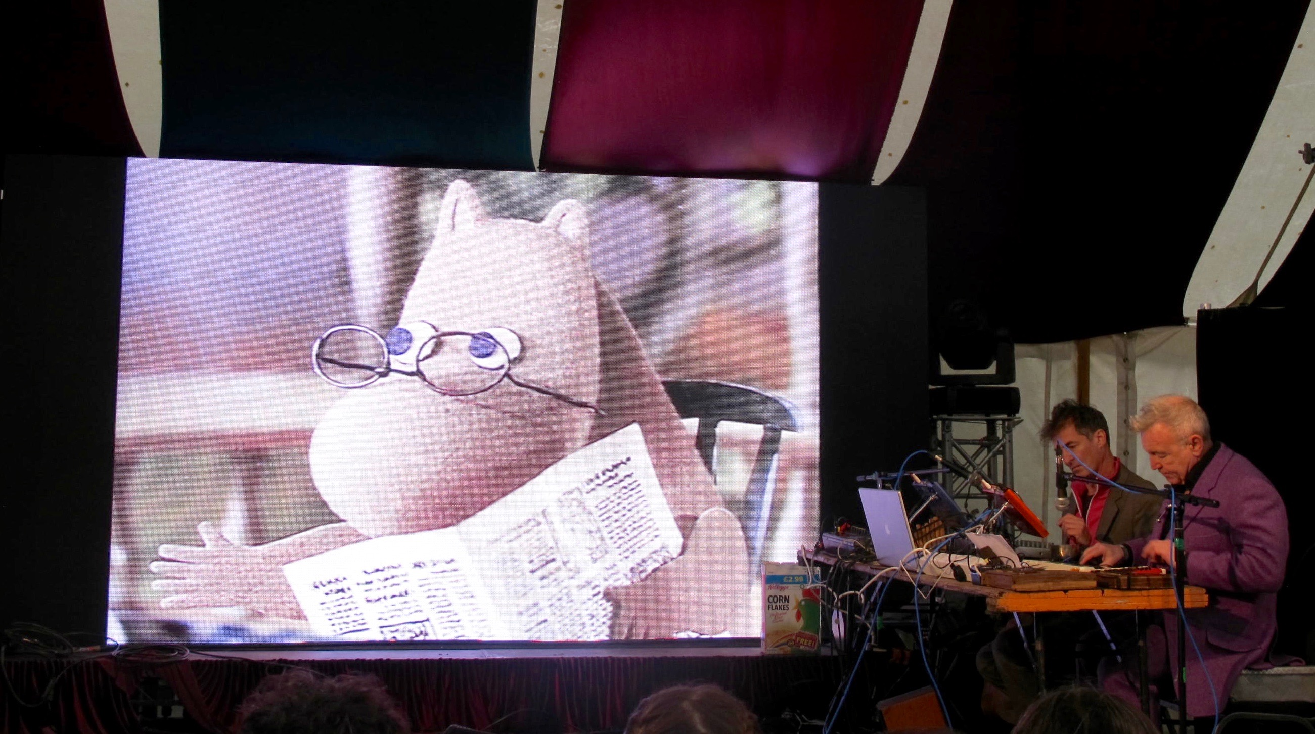 The Moomins, Festival No. 6 (Credit: Nick Rice)