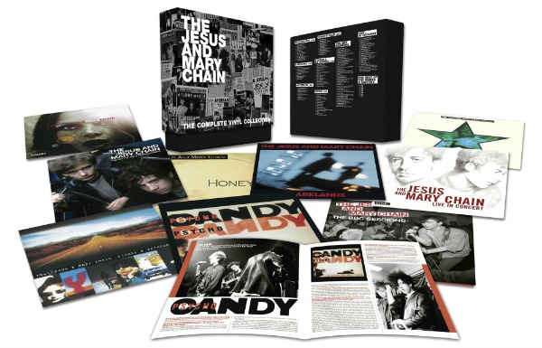 The jesus and mary chain the vinyl collection reviews clash magazine - Collection disque vinyl ...