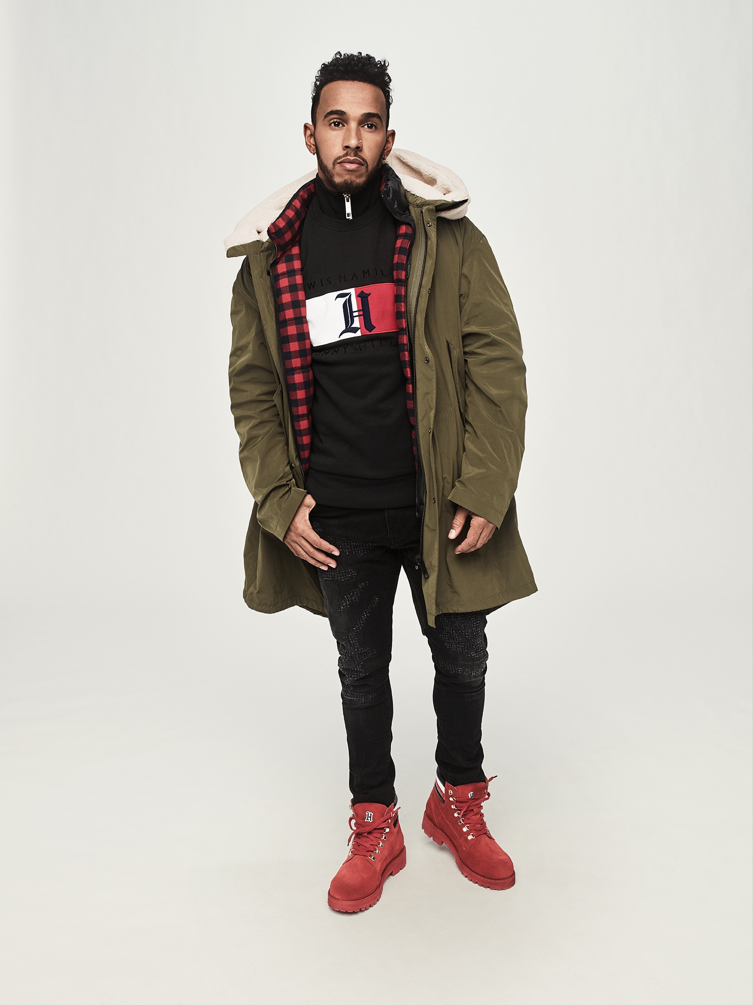 tommy hilfiger collaborates with lewis hamilton fashion