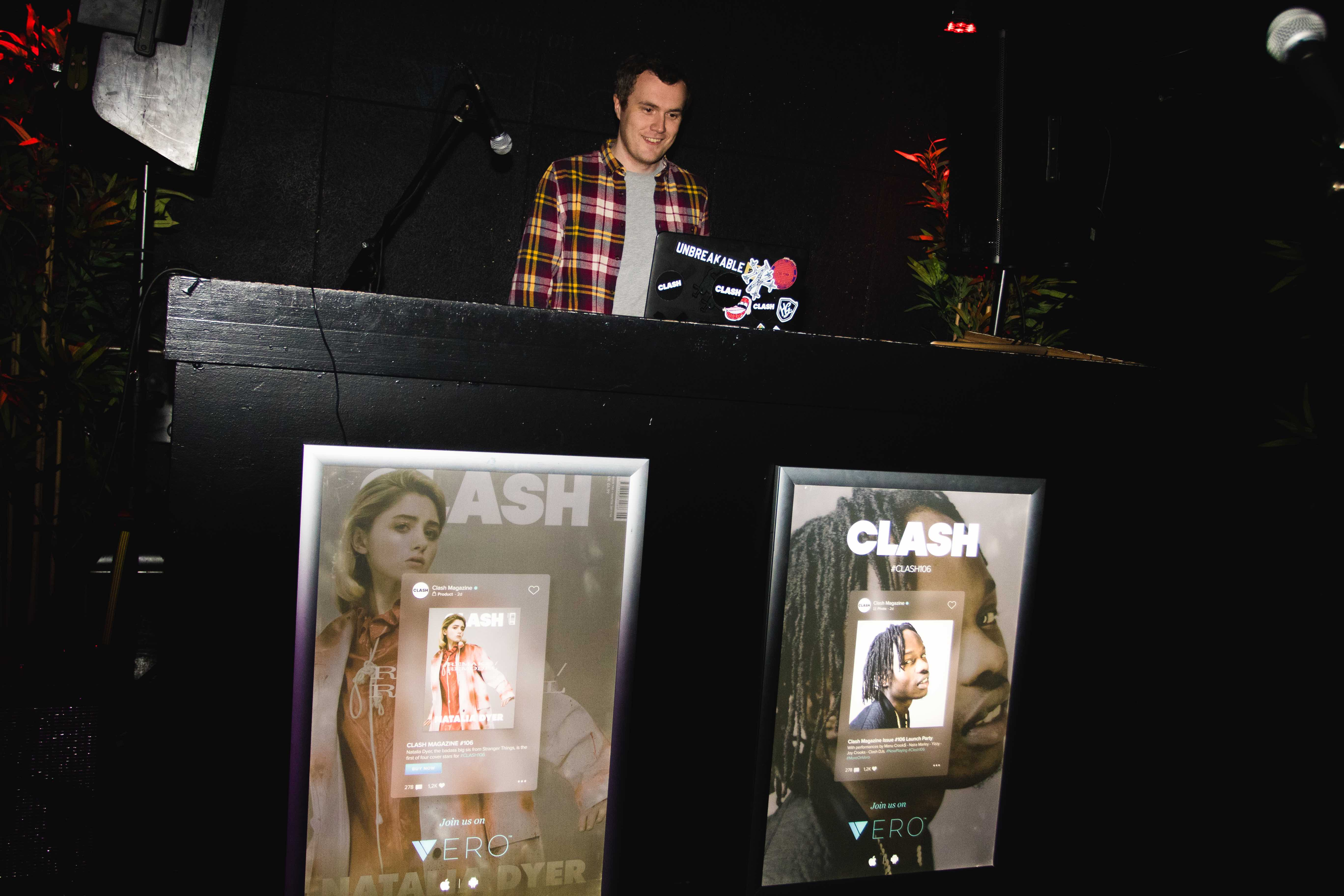 Clash DJs, by Ben McQuaide