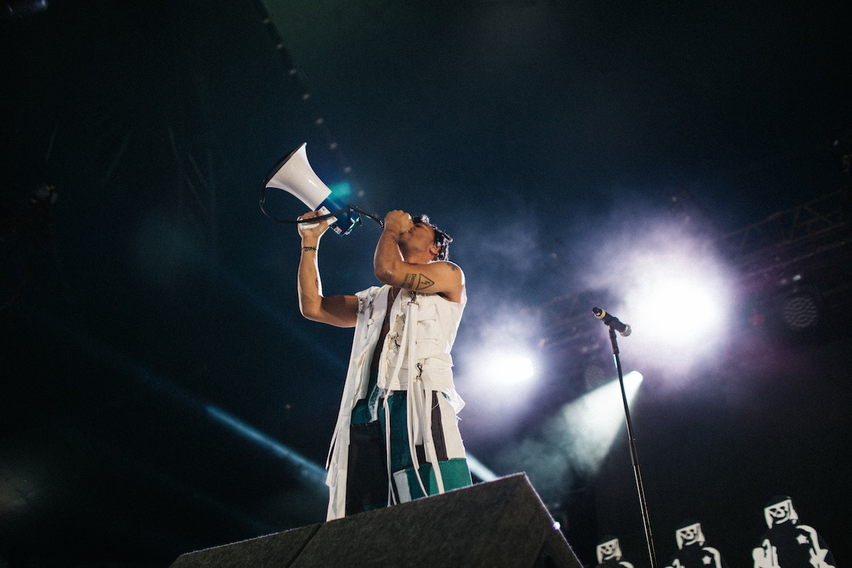 Vic Mensa (Credit: Vicky Grout)