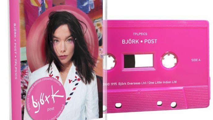 Björk To Re-Issue Her Catalogue On Cassette