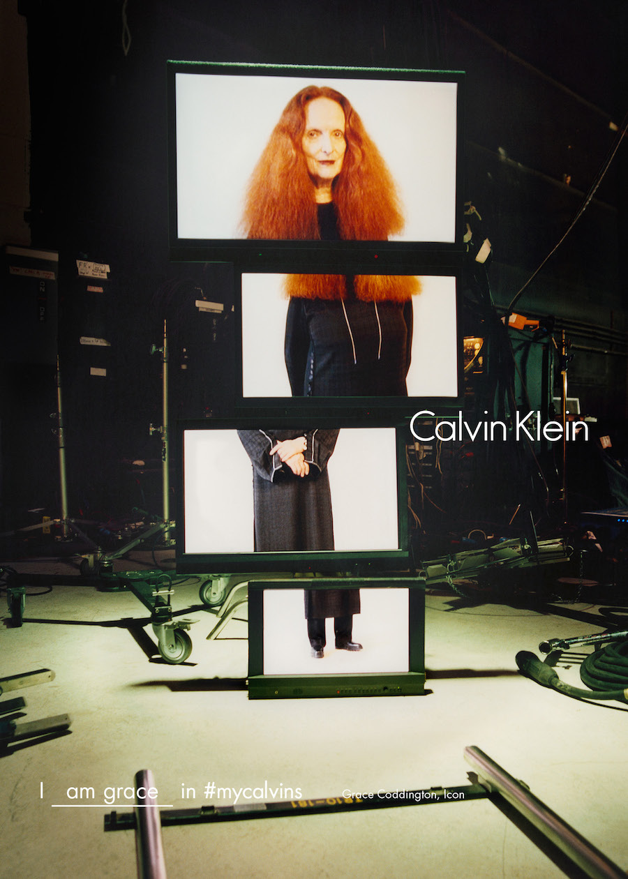 Grace Coddington, Calvin Klein AW16