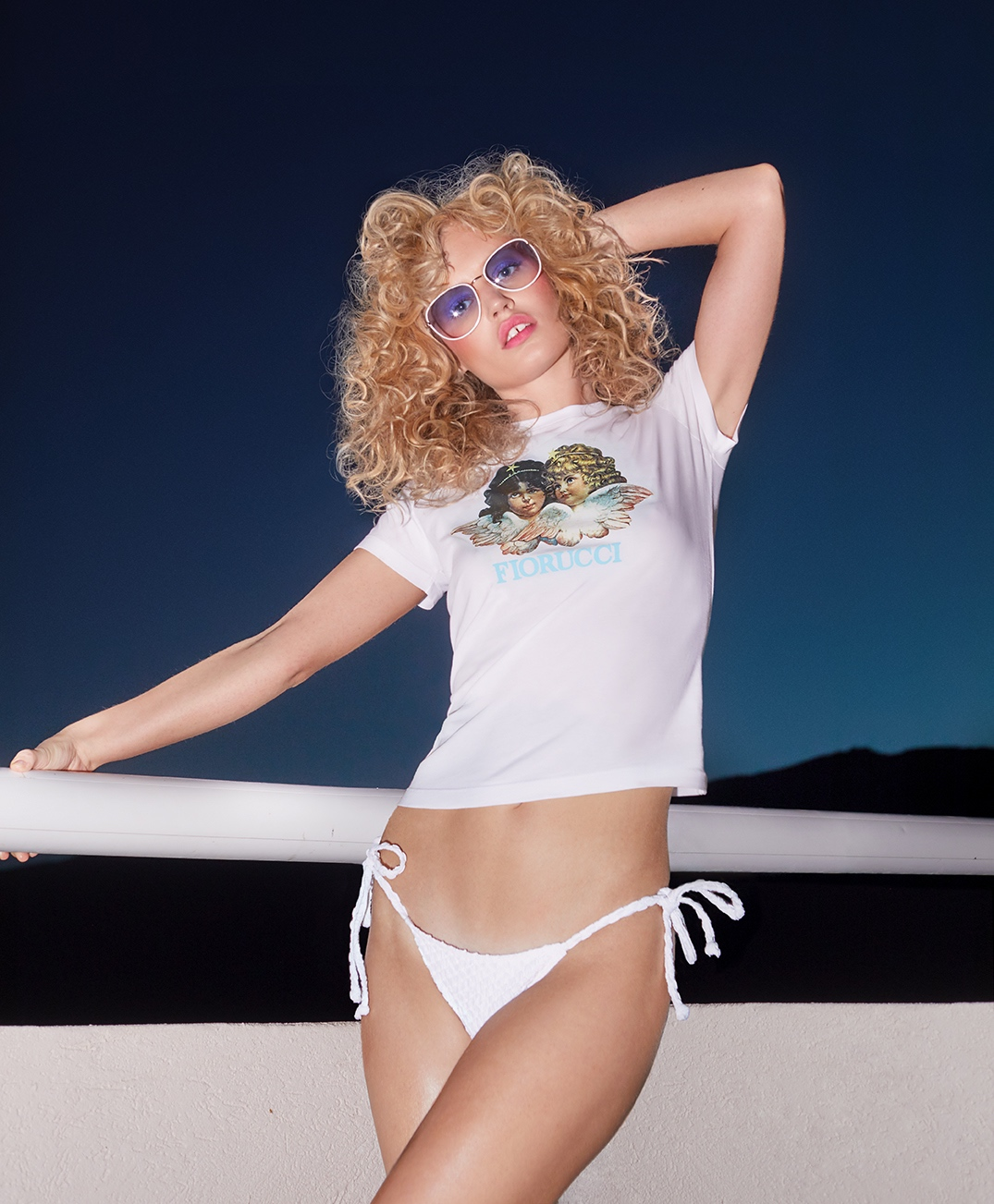 Georgia May Jagger for Fiorucci Summer 2017