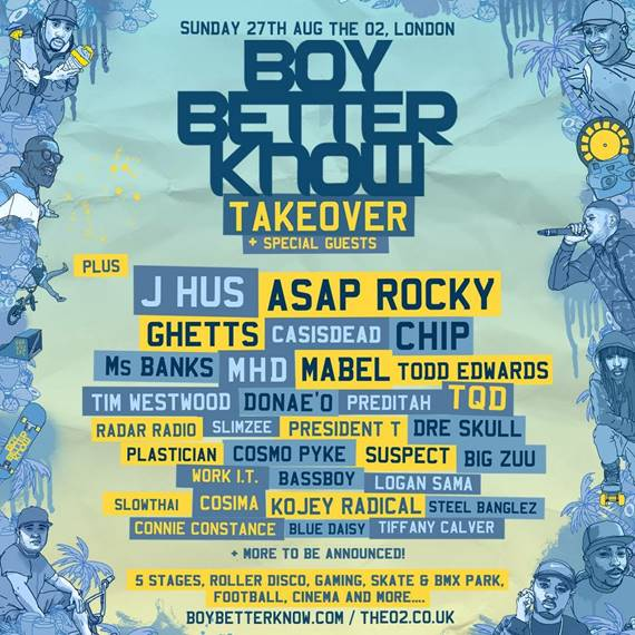 Boy Better Know O2 Takeover