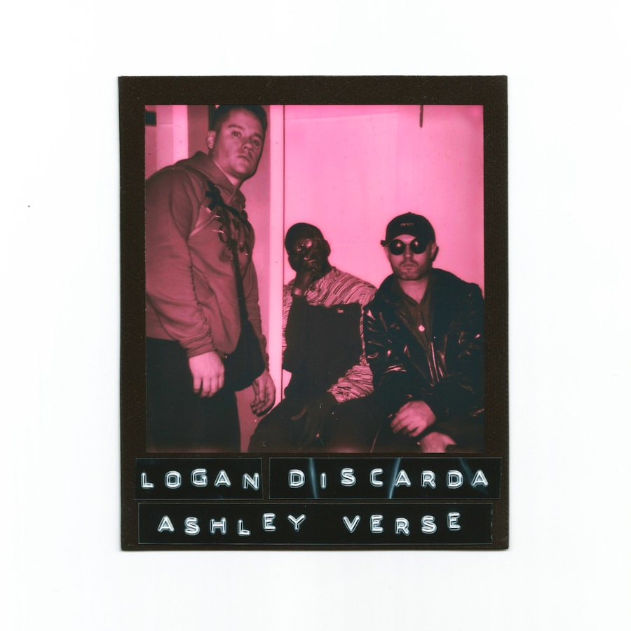 Logan Sama, Discarda, Ashley Verse (Credit: Almass Badat)