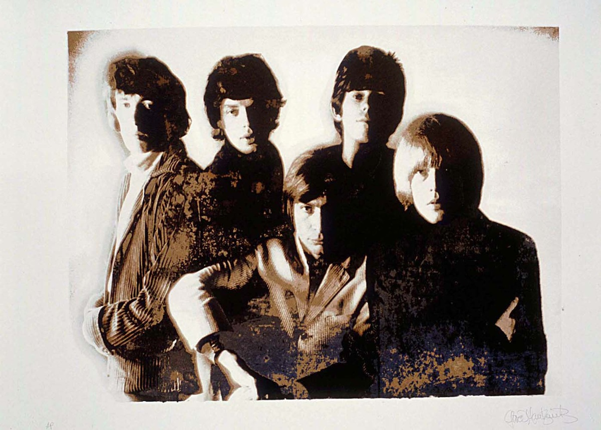 The Rolling Stones (Credit: Gered Mankowitz)