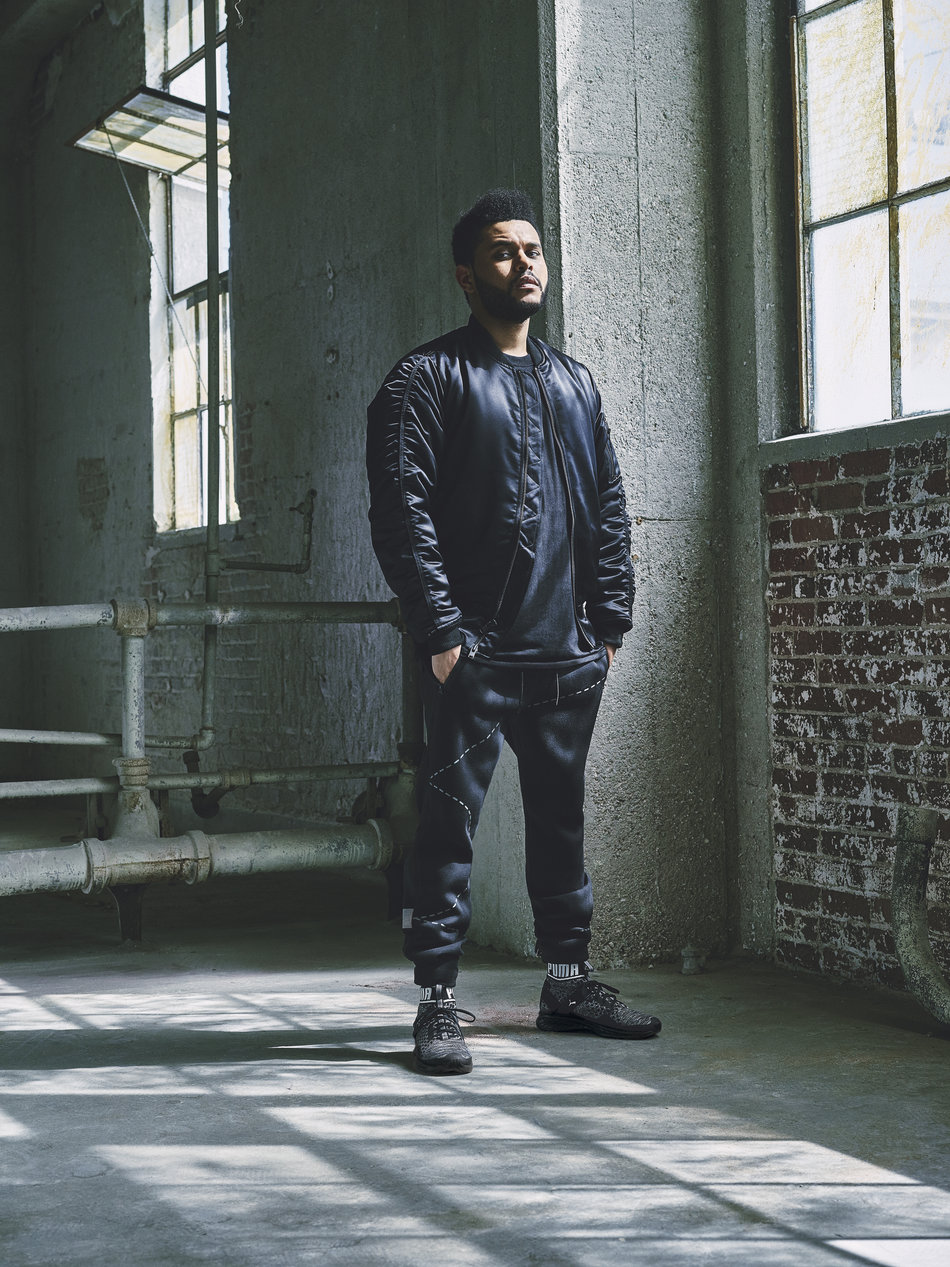 The Weeknd for Puma