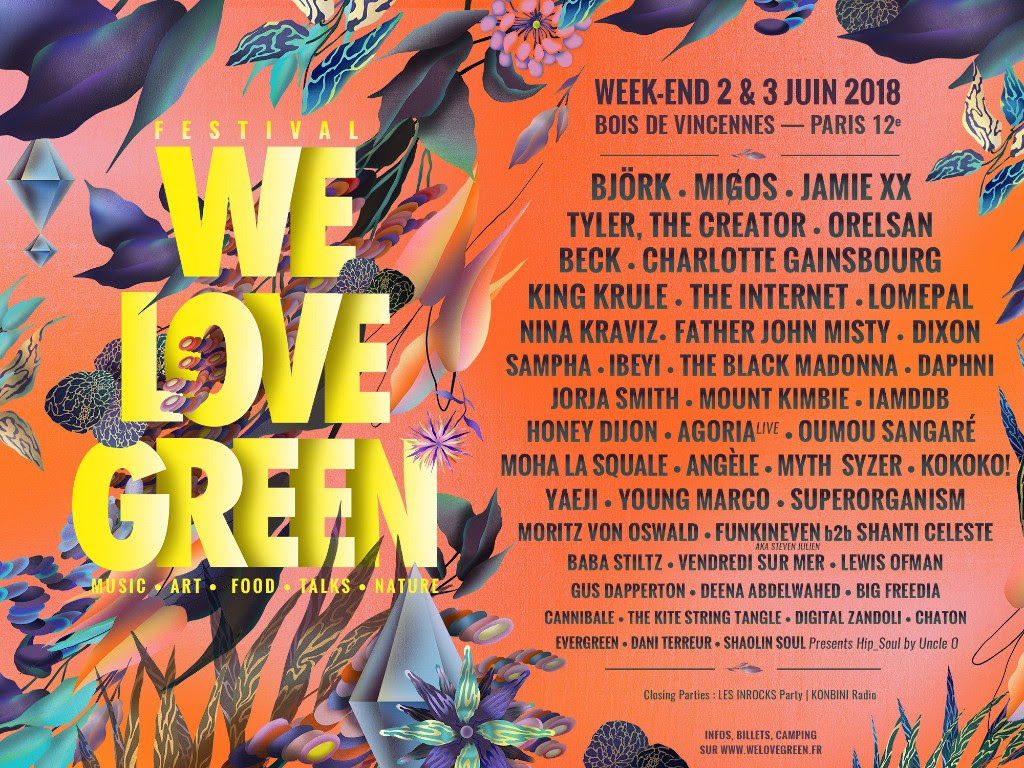 Image result for we love green 2018