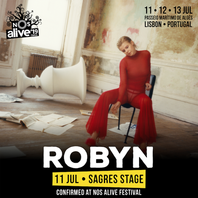 Robyn, Hot Chip, Weezer Added To NOS Alive 2019