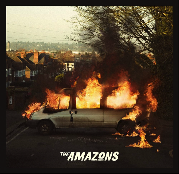 the amazons, self titled, debut album, review, rock, indie, music, album, artist, kmmreviews
